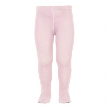 Leotardo liso rosa