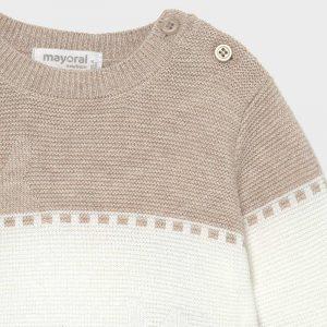 Conjunto polaina tricot Ecofriends