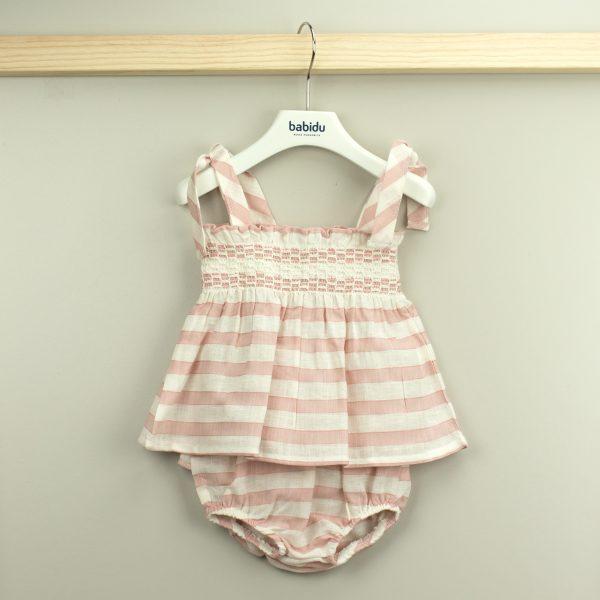 Conjunto Vestido Babyknicker Amanda