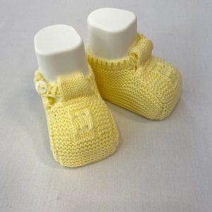 Patuco Botones Amarillo