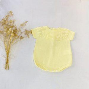 Ranita Manga Corta Bodoques Amarillo