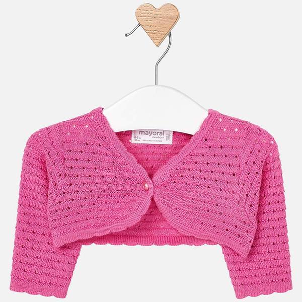 Rebeca corta tricot