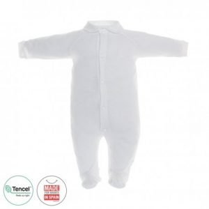 Pelele Largo pijama tencel Blanco