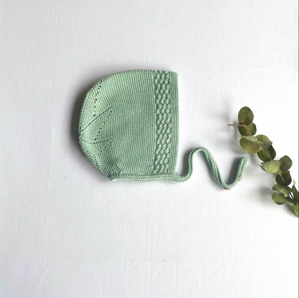 Capota punto estrella atrás verde seco