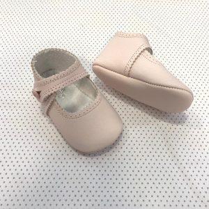 Zapatos tipo mercedita rosa