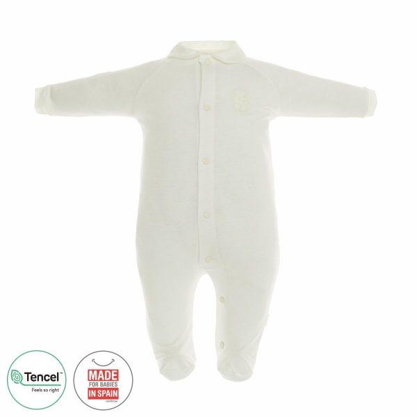 Pelele largo básico pijama tencel