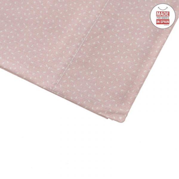Sábana minicuna tres piezas SKY rosa