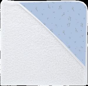 Capa de baño pollitos Rondine celeste