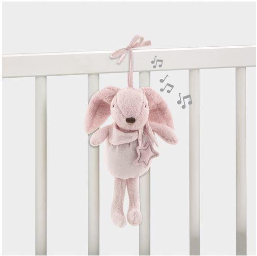 Conejo Musical pasito a pasito rosa desde el nacimiento