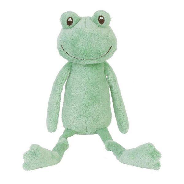 Peluche juguete musical rana verde desde el nacimiento