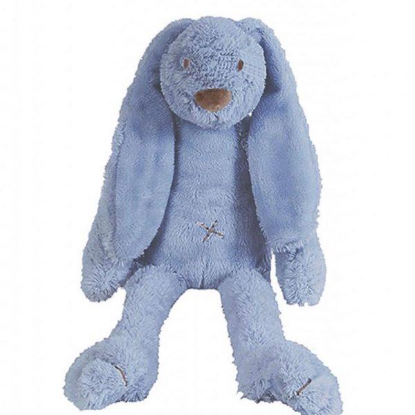 Peluche Juguete Musical Conejo azul desde el nacimiento
