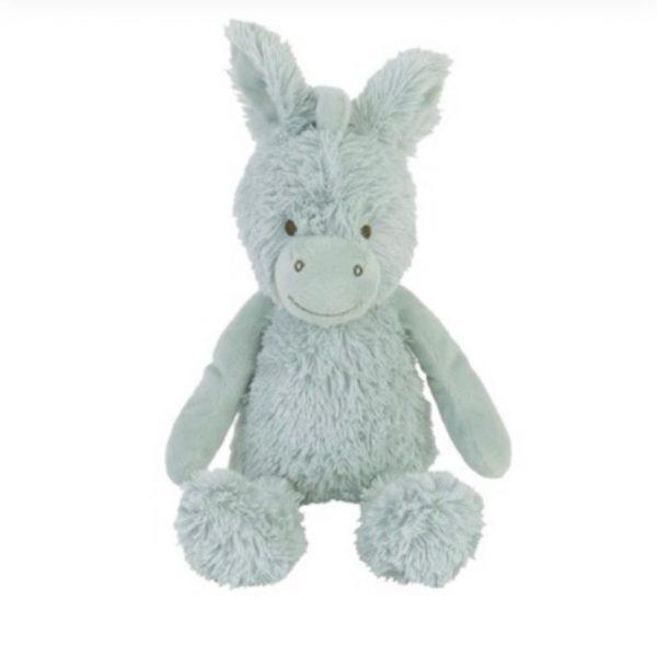 Peluche juguete Musical Donkey verde agua desde el nacimiento